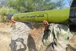 """كتائب """"الناصر"""" في غزة تكشف عن صاروخ جديد من صناعتها"""