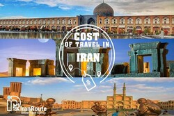 How much does it cost to travel in Iran?