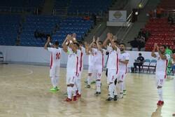 پیروزی تیم ملی فوتسال ایران مقابل قرقیزستان در دیداری تشریفاتی