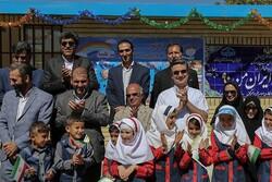 بهرهبرداری از ۳ مدرسه توسط خیرین در روستاهای خرمآباد