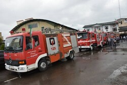 انجام ۱۰۰ مأموریت اطفای حریق و امداد و نجات توسط آتش نشانی آستارا