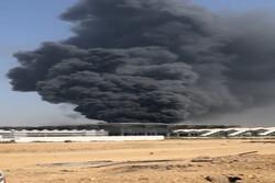 Suudi Arabistan'ın Cidde kentinde büyük yangın!