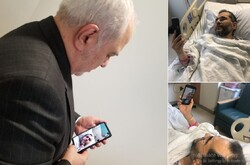 Zarif takes swipe at U.S. for not letting him visit envoy in NY hospital