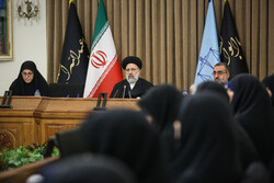 دیدار اعضای فراکسیون زنان مجلس شورای اسلامی با رئیس قوه قضائیه