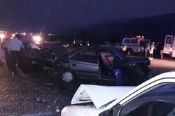 تصادف ۳ دستگاه خودرو در آق قلا ۴ مصدوم برجای گذاشت