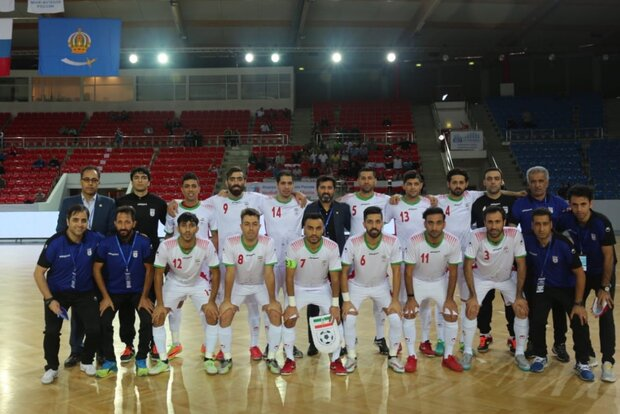 Timetable of 4-nation futsal tournament in Mashhad announced