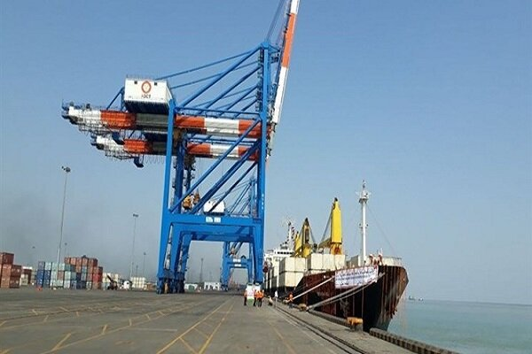 Goods export from Chabahar port up by 100% in H1