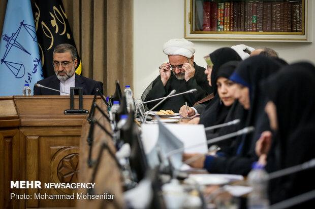 رئیس قوه قضاییه با سعه صدر و حوصله تمام مطالب را پاسخگو بود