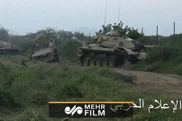 Suudi tankları sahadan böyle kaçtı!