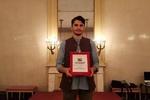 هنرمند جوان کردستانی داور جشنواره فیلم بی کلام مکزیک شد