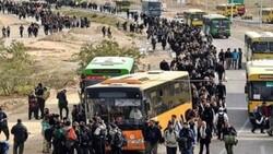 تردد از قصرشیرین به خسروی تنها با اتوبوس امکانپذیر است