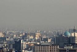 هوای مشهد در دوازدهمین روز پیاپی ناسالم است
