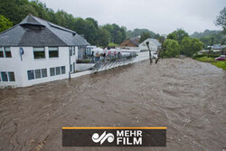 VIDEO: Heavy  flooding in northeast Scotland