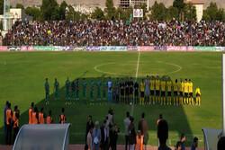 دیدار جام حذفی سپاهان و خیبر در خرمآباد آغاز شد/ ترکیب تیمها
