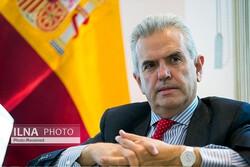 Madrid's ambassador to Tehran Eduardo López Busquets in an undated photo
