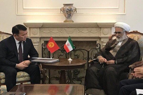 İran ile Kırgızistan arasında adli ilişkiler artacak