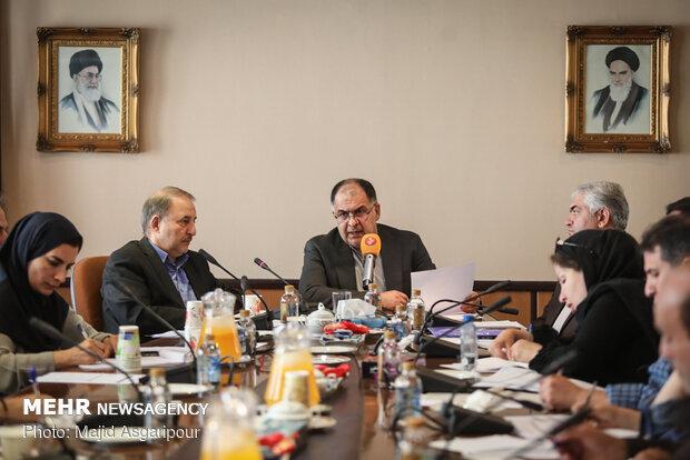 نشست خبری محمد خدادی معاون مطبوعاتی وزارت ارشاد