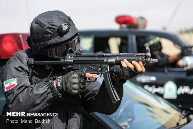 İran'da Özel Harekat Polisi