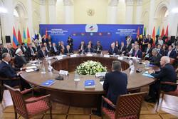 آرمینیا میں یوریشین اقتصادی تنظیم کا سربراہی اجلاس منعقد