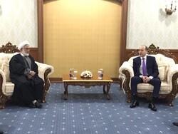 دیدار دادستان کل جمهوری اسلامی ایران با همتای قزاقستانی