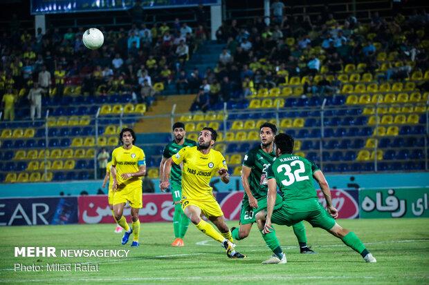 پیروزی ذوب آهن مقابل شاهین بوشهر در نیمه اول
