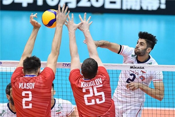 Iran falls short against Russia in 2019 FIVB World Cup