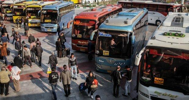 پایانه شهید کاویانی پایلوت انتقال زوار به مرز خسروی