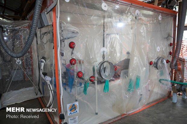 مقابله با ابولا در کنگو