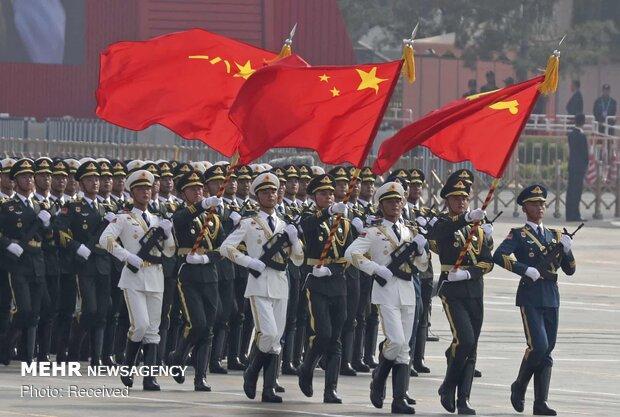 پخش فیلم جشن هفتادمین سالگرد جمهوری خلق چین با زبان کانتونی