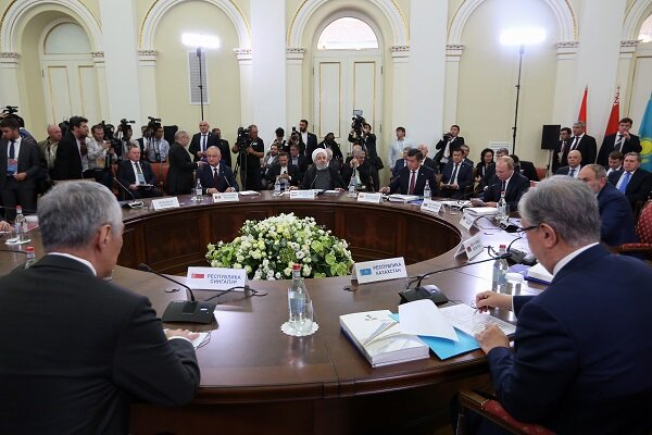 Pres. Rouhani stresses need for confronting US' unilateralism
