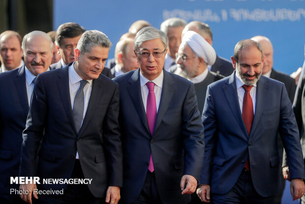 EAEU summit in Yerevan