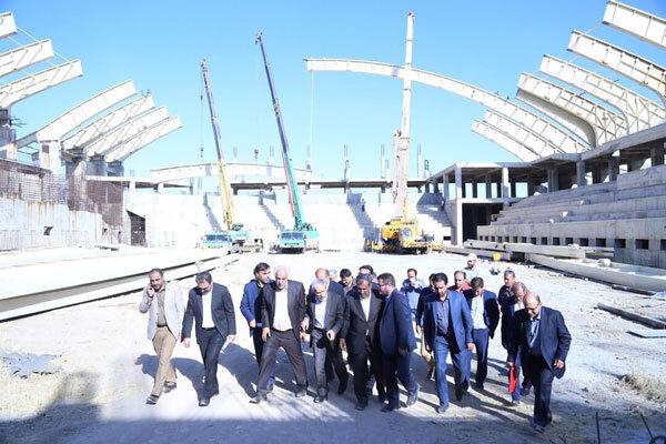 سالن سرپوشیده ۶ هزار نفری قزوین سال آینده آماده افتتاح می شود