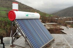 نصب ۶۵ آبگرمکن خورشیدی در مناطق کمبرخوردار کرمانشاه