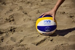 İran'da uluslararası plaj voleybolu şampiyonası