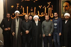 Nasrallah's family visits religious figures in Qom