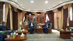 İranlı yetkili, Necef Valisi ile görüştü