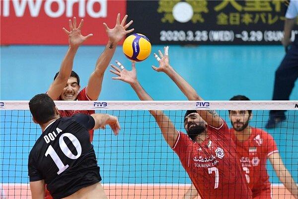 FIVB World Cup: Egypt 3-1 Iran