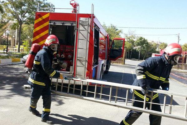 آغاز دوره آموزشی آتشنشانان تازه استخدام آتشنشانی اراک