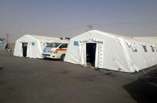 ششمین بیمارستان صحرایی بسیج جامعه پزشکی استان یزد برپا می شود