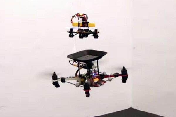پرنده نظارتی سبک برای کاربردهای امنیتی ساخته شد