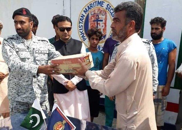 Pakistani navy rescues nine Iranian fishermen stranded in open sea