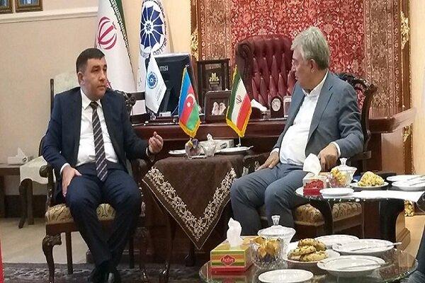 Iran, Azerbaijan review bilateral ties