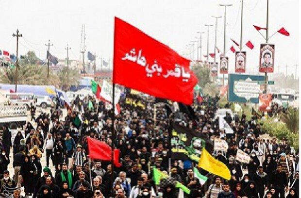 ۱۸ هزار زائر اربعین حسینی در چهارمحال و بختیاری ثبت نام کردند