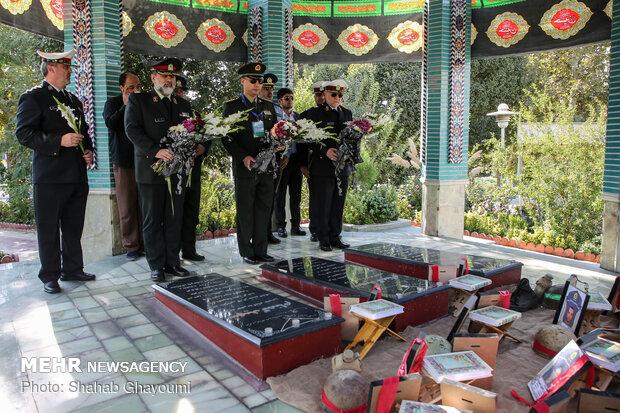 دوازدهمین نشست نیروی انتظامی با وابستگان نظامی پلیس کشورهای خارجی