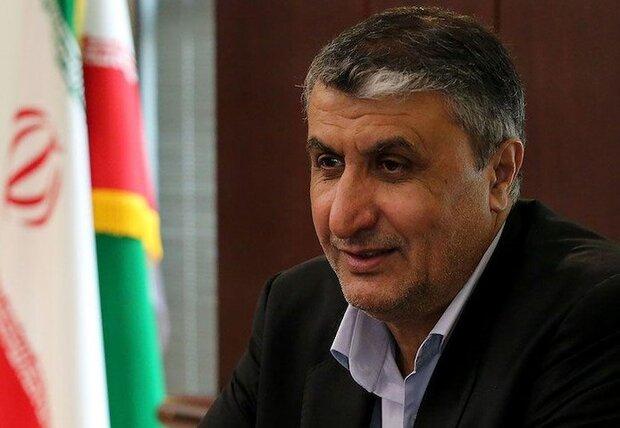 وزير الطرق الايراني: تشغيل طريق النقل بالسكك الحديدية بالصين