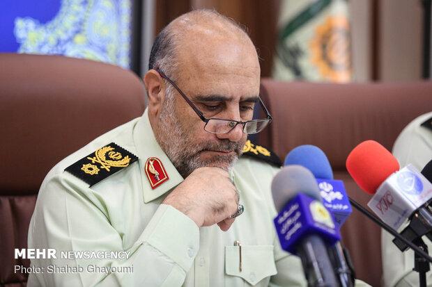 ۲۱ درصد جرائم کشور در تهران رخ می دهد/کاهش ۷ درصدی جرایم