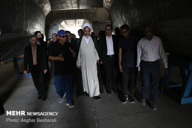 سفر حجتالاسلام حسن درویشیان رئیس سازمان بازرسی کل کشور به قشم