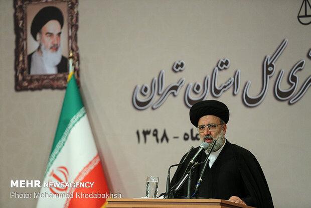 دیدار قضات محاکم دادگستری کل استان تهران