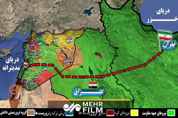تهران تا بیروت بدون توقف