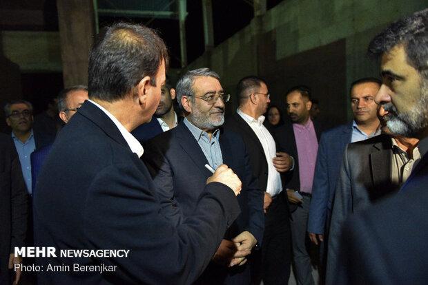 سفر وزیر کشور به شیراز
